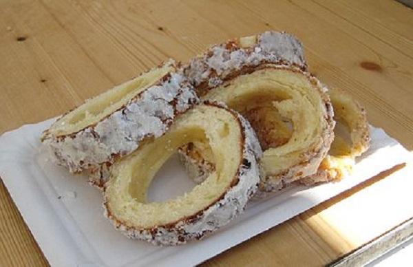 Traditional Slovak Skalický Trdelník (Sweet Pastry Cake)