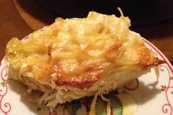 Traditional Albanian Pistachio (Layered Spaghetti)