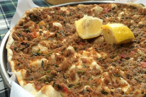 Traditional Armenian Pizza