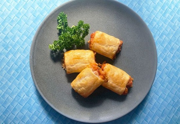 Baked Beans Sausage Rolls