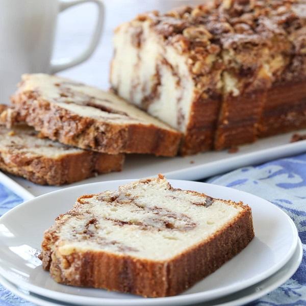 Cinnamon Nut Dessert Bread