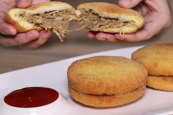 Ramadan Bread Chicken Patties