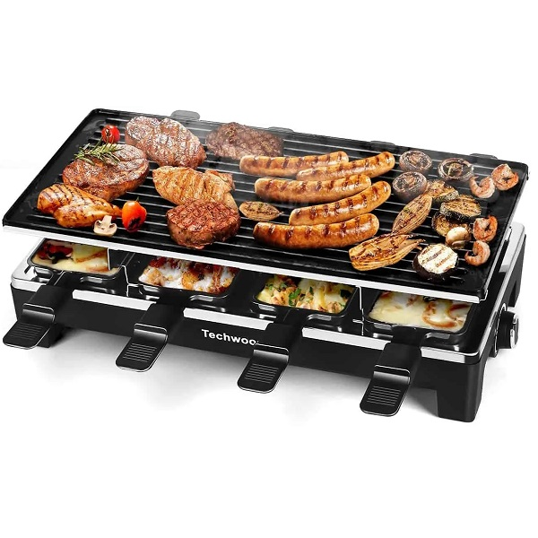 Techwood Non-stick Raclette Grill