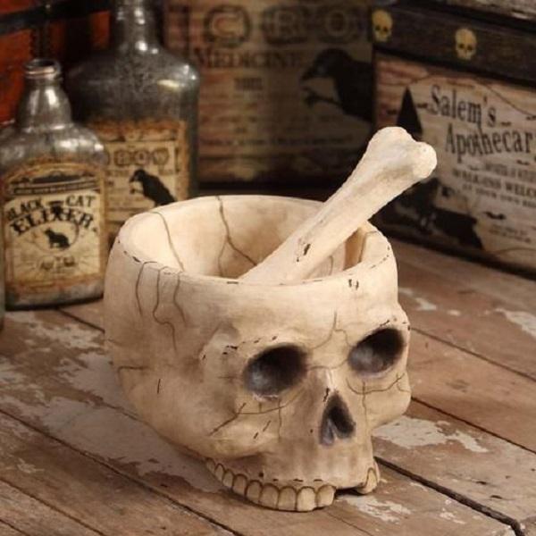 Mr. Bones Mortar & Pestle Set