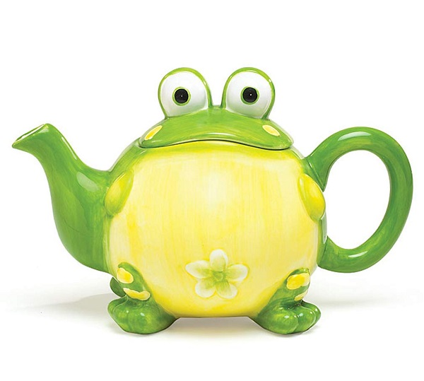Toby the Frog Teapot