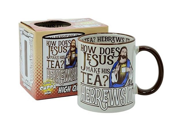 Pop Art Products Jesus He Brews It coffee Mug