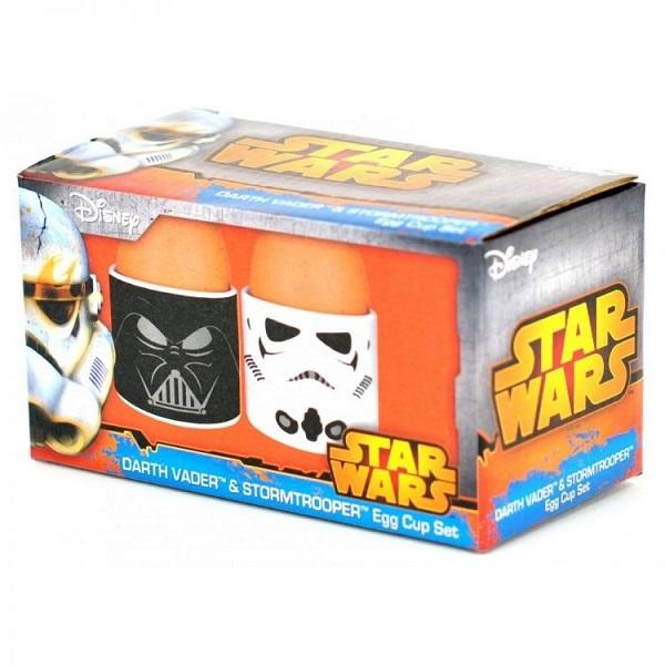 Star-Wars Darth Vader and Stormtrooper Egg Cup Set