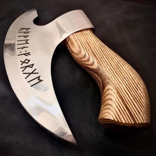 RavenForge Pizza Axe Pizza Cutter