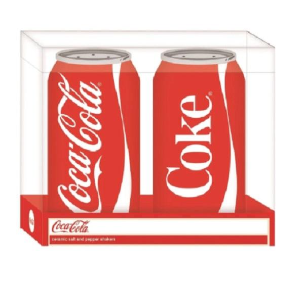 Open Road Coca-Cola Salt and Pepper Shakers