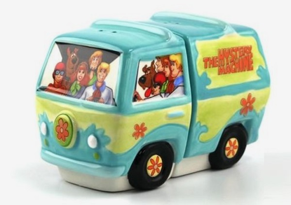 Neatoshop Scooby-Doo Gang & Mystery Machine Salt and Pepper Shakers