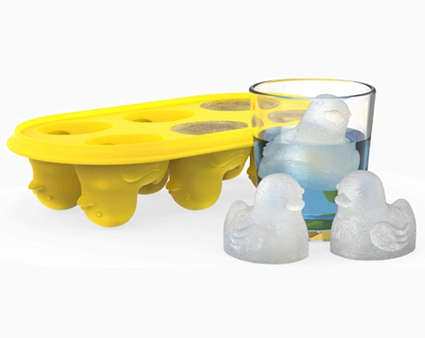True Zoo Silicone Ducks Ice Cube Tray
