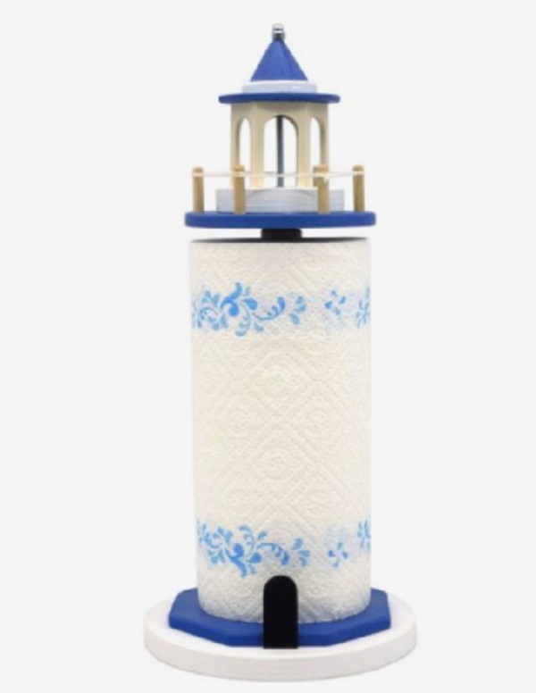 ETSY Lighthouse Kitchen Roll Holder
