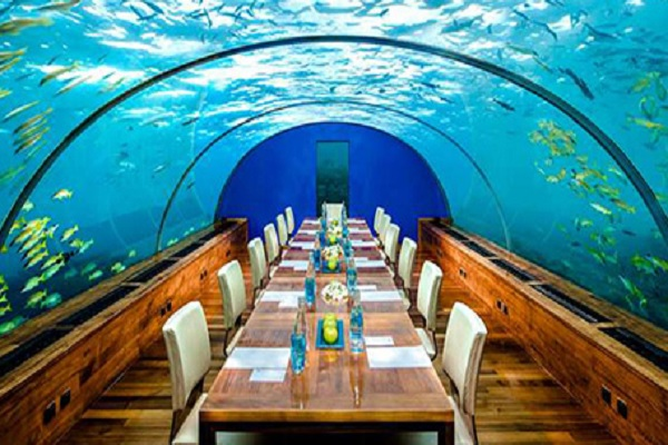 Ithaa Restaurant, Maldives