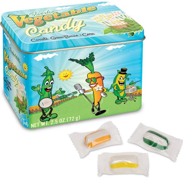 Vegetable Flavour Candy by Archie McPhee