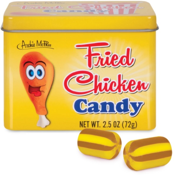 Fried Chicken Flavour Candy by Archie McPhee