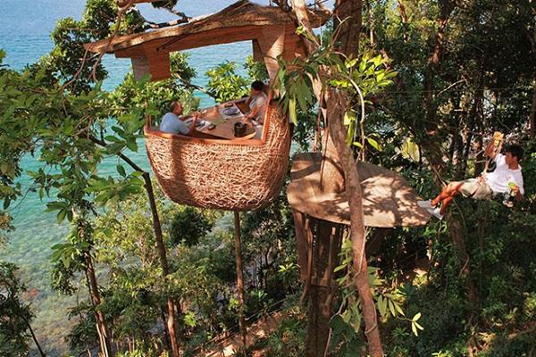 Soneva Kiri Resort Restaurant,Thailand