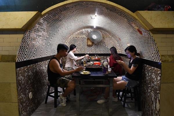 Chongqing's Bomb Shelter, China