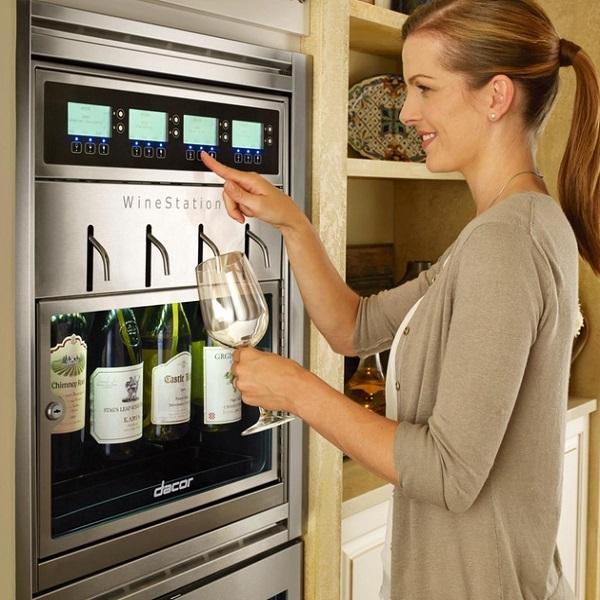 Dacor Professional Freestanding Wine Dispenser