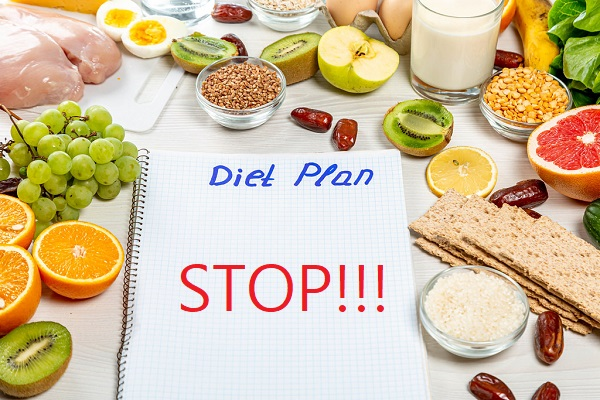 Ten Reasons Why Diets Don't Work As A Weight Loss Method