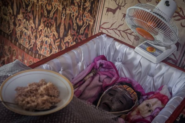 The Last Meal For The Dead In Indonesia