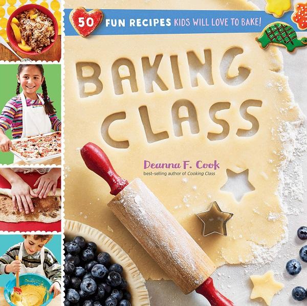 Kid's Baking Class 50-Recipe Cookbook
