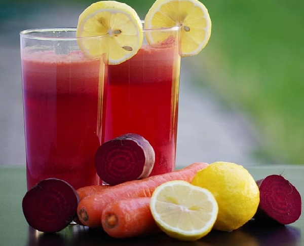 Unpasteurized Fresh Juice And Salads