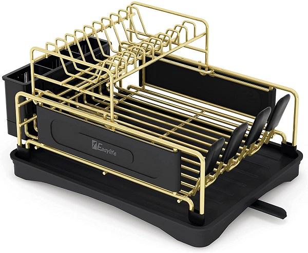 1Easylife 2-Tier Compact Kitchen Dish Rack
