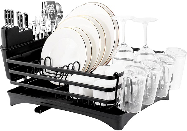 ROTTOGOON Aluminum Dish Drying Rack