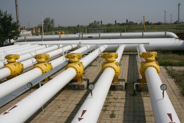 Ukraine importiert Gas aus Europa . Ukrtransgaz ist Netzbetreiber.