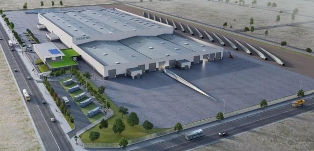Siemens baut in Marokko Werk zur Rotorblattfertigung.