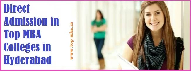 Direct Admission in Top MBA Colleges in Hyderabad