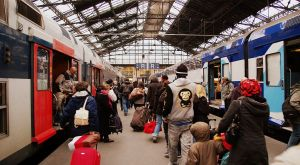 n gare de Paris-Gare de Lyon, en février 2009.