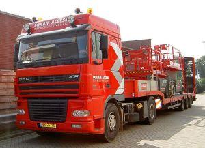 Camion de Loxam