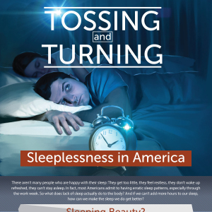 Tossing and Turning -- Sleeplessness in America