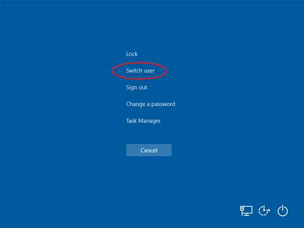 5 Ways to Switch Users in Windows 10 without Log off | Password ...
