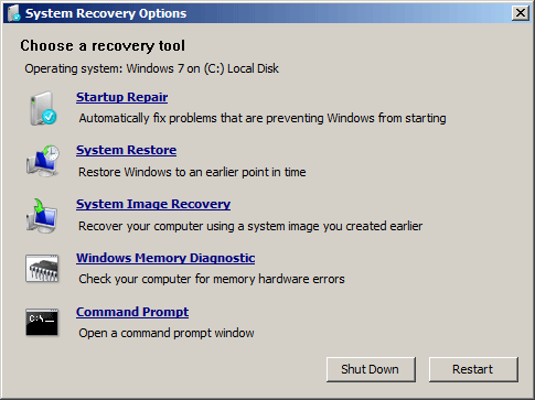 recovery tool