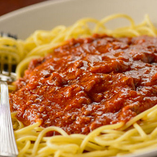 Children's Regular Spaghetti and Meat Sauce