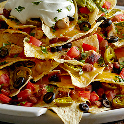 Nachos from Top Pizza and Spaghetti House Lethbridge