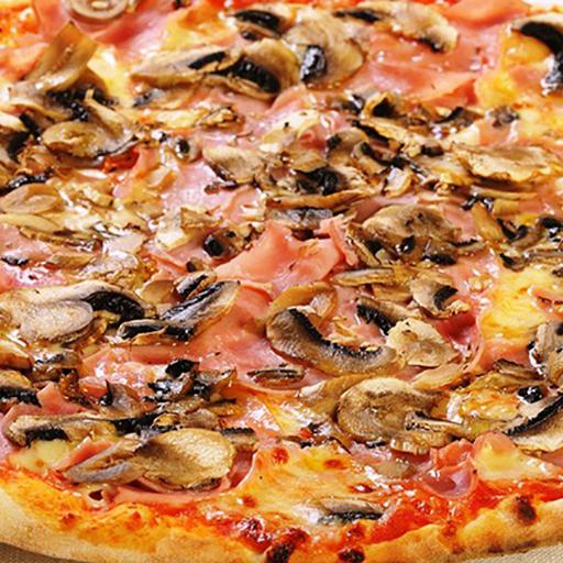 Salami, Mushroom & Ham