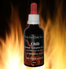 Chilisauce mit Pfiff Mega-Scharf
