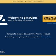ZoneAlarm firewall tutorial 1 – Installing ZoneAlarm