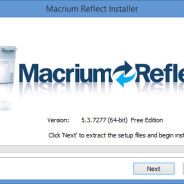 Macrium Reflect Tutorial 1 – Installation