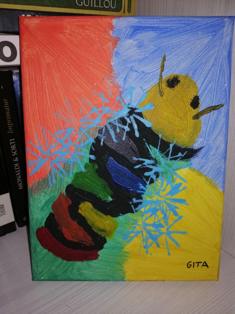 Pčela duginih boja