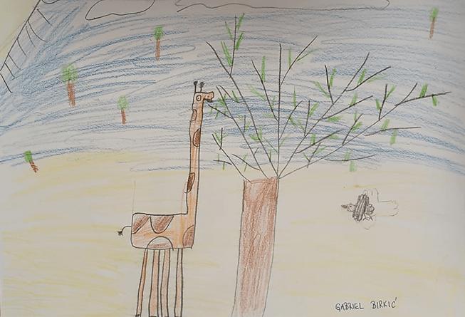 Gabriel Birkić: Žirafa i vrana