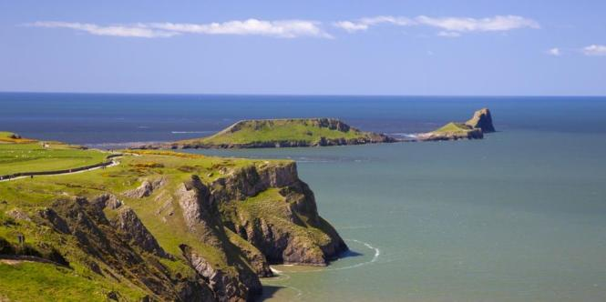 stranden rhossili bay - TOP 10 MOST BEAUTIFUL BEACHES OF THE WORLD