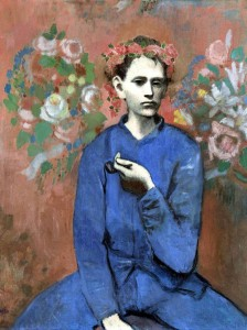 Boy With A Pipe (The Young Apprentice) by Pablo Picasso