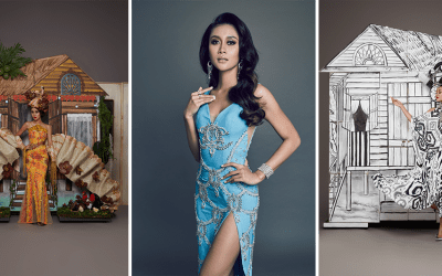 Francisca Luhong James Unveils 'Kampungku' National Costume And Evening Gown For 69th Miss Universe Competition
