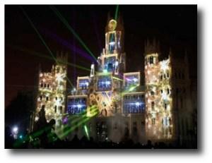 1. Espect+ículo de Navidad en el Palacio de Cibeles