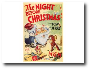 7. Tom & Jerry- The Night Before Christmas