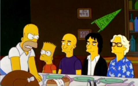 REM en Los Simpsons